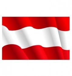 flag austria vector image