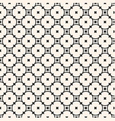 ornamental seamless pattern with rounded lattice vector image