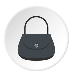 small wallet icon circle vector image