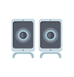 Computer Speakers vector image
