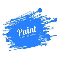 Grunge Paint Splat vector image