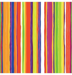 colorful lines pattern vector image