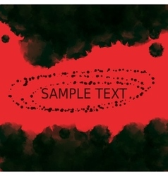 Dark red black vampire background Abstract vector image
