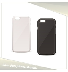 Design Case for Phone vector image