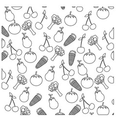 Figure vegetables background icon vector