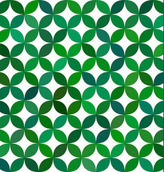 Green abstract curved pattern background vector