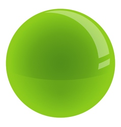 Marble Glossy Ball vector