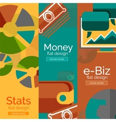 Money business e-commerce concepts vector image