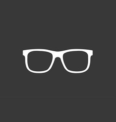 optic glasses icon sign symbol vector image