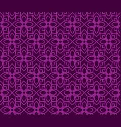 Pattern background thai flower vector