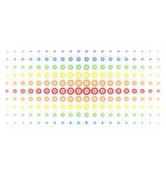 Roulette spectral halftone array vector