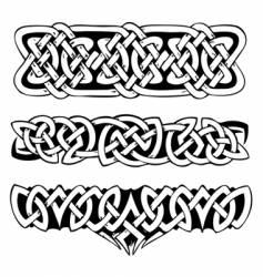celtic symbols vector image