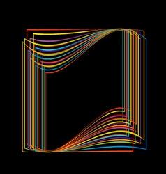 design element or banner for web vector image vector image