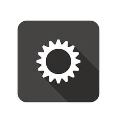 Gear icon cogwheel symbol vector