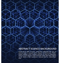 Science dna chemistry biology futuristic vector image