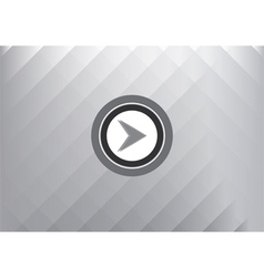 Play button technology concept abstract background vector image vector image