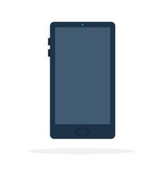 black smart phone vector image