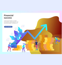 concept financial investments investment in vector image