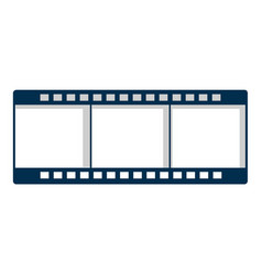 Film strip icon cartoon style vector