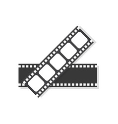movie film frame icon vector image