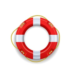Ship lifebuoy vector