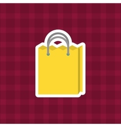 shopping bag purchase vector image