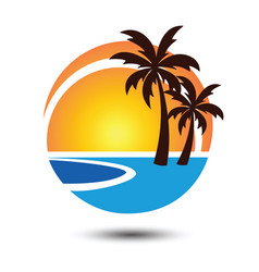 Summer logo 2 vector
