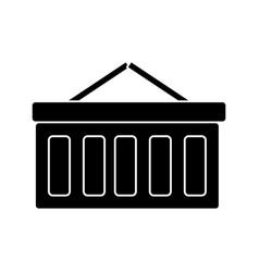 shopping cart icon sign o vector image vector image