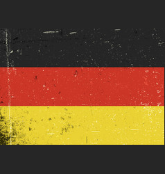 germany grunge flag abstract germany patriotic vector image
