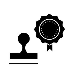 stamps icon sign on isolate vector image