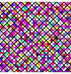 Abstract geometric pattern background Colorful vector