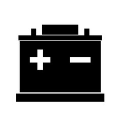 Car battery vector