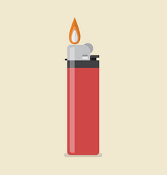 lighter icon vector image