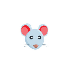 mouse head isolated icon vector image