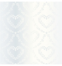 Victorian wedding pattern vector image