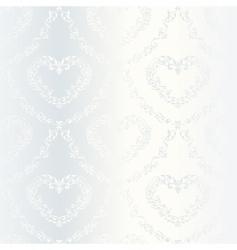 Victorian wedding pattern vector