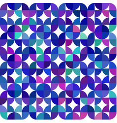 Seamless geometrical pattern made of quarter vector