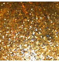 Golden mosaic Abstract background EPS 8 vector image vector image