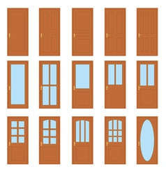 Set of the doors vector