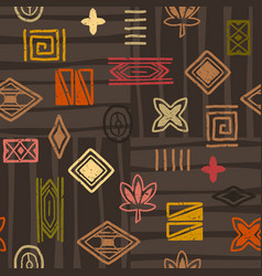 african-pattern-07 vector image