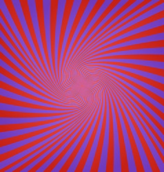 Blue red abstract spiral background design vector
