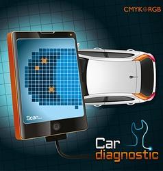 Car Diagnostic Gadget vector image