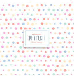Cute soft kids style pattern background vector