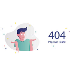 error page not found vector image