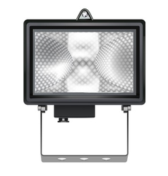 Halogen reflector vector
