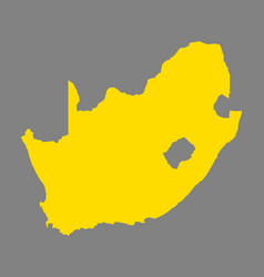 map of south africa vector image