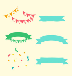 party element vector image