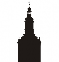 church buildings vector image
