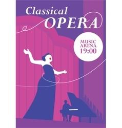 Classical Opera Concept vector image