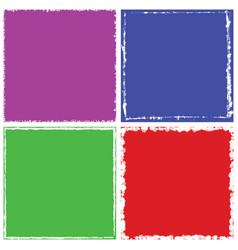 color frame set vector image